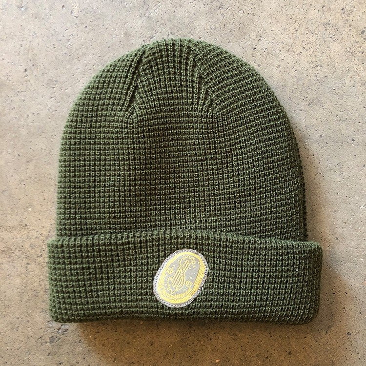 Coin Beanie (Olive)