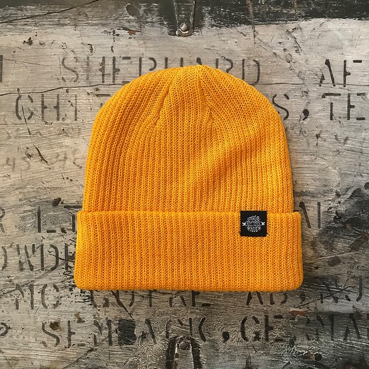 Emage Logo Beanie (Athletic Gold)