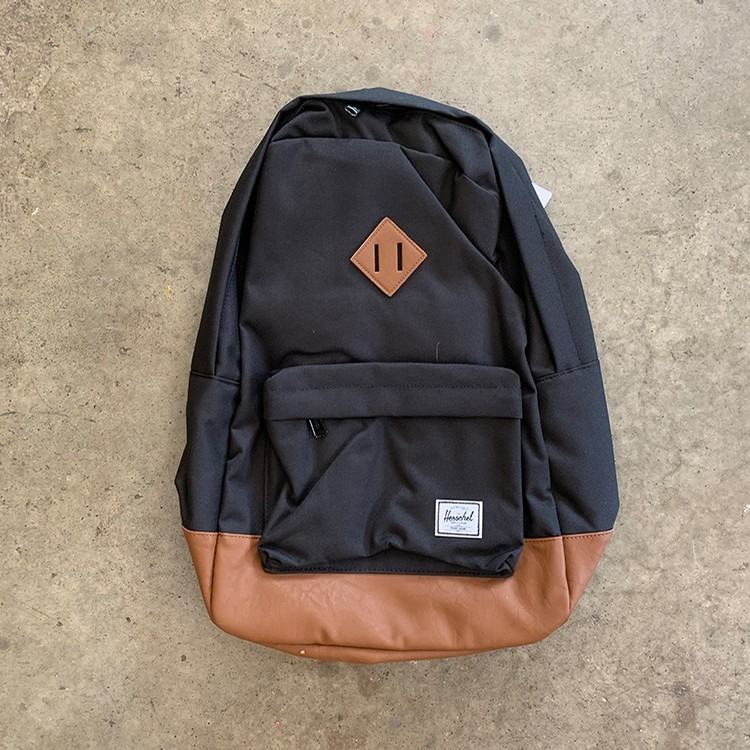 Heritage Backpack (Black/Tan)