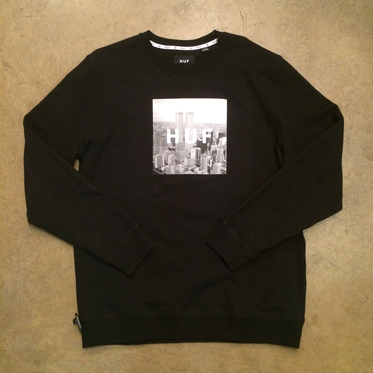 New York Box Logo Crew (Black)