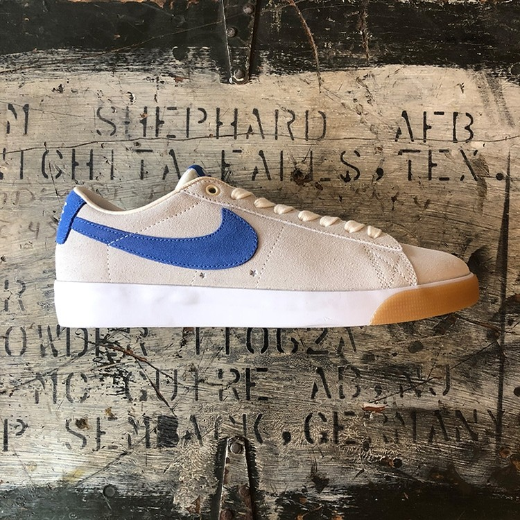 Zoom Blazer Low GT (Pale Ivory/Pacific Blue)