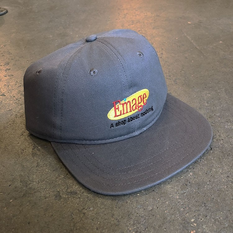 Emage Seinfeld Hat (Charcoal)