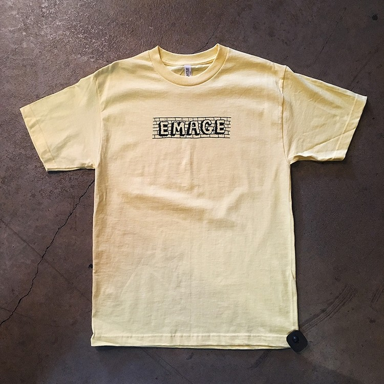 Emage Bricks Tee (Banana)