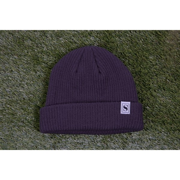 The Stockist S Beanie: Charcoal