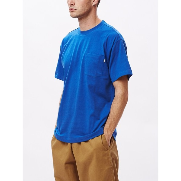 Ideals Recycled Pocket Tee: Royal Blue