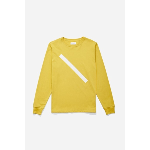 Slash L/S Tee: Goldenrod