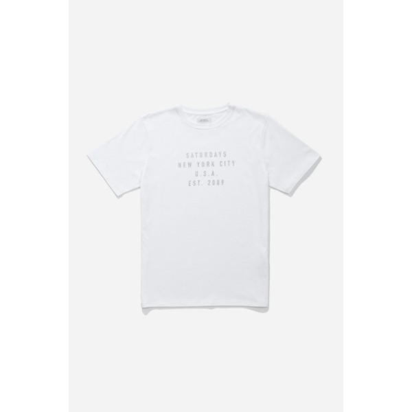 Inside Out S/S Tee: White