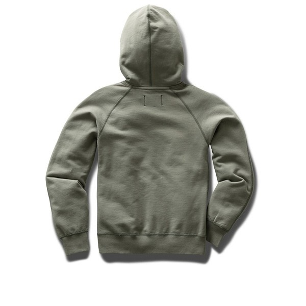 W' Relaxed Hoodie: Sage