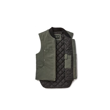 CCF Work Vest: Cannon Ball Green