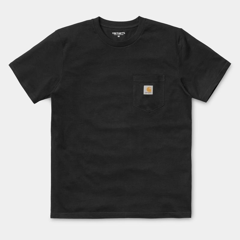 S/S Pocket T-Shirt: Black