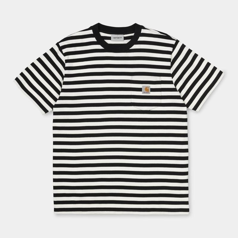 S/S Scotty Pocket T-Shirt: Black/Wax
