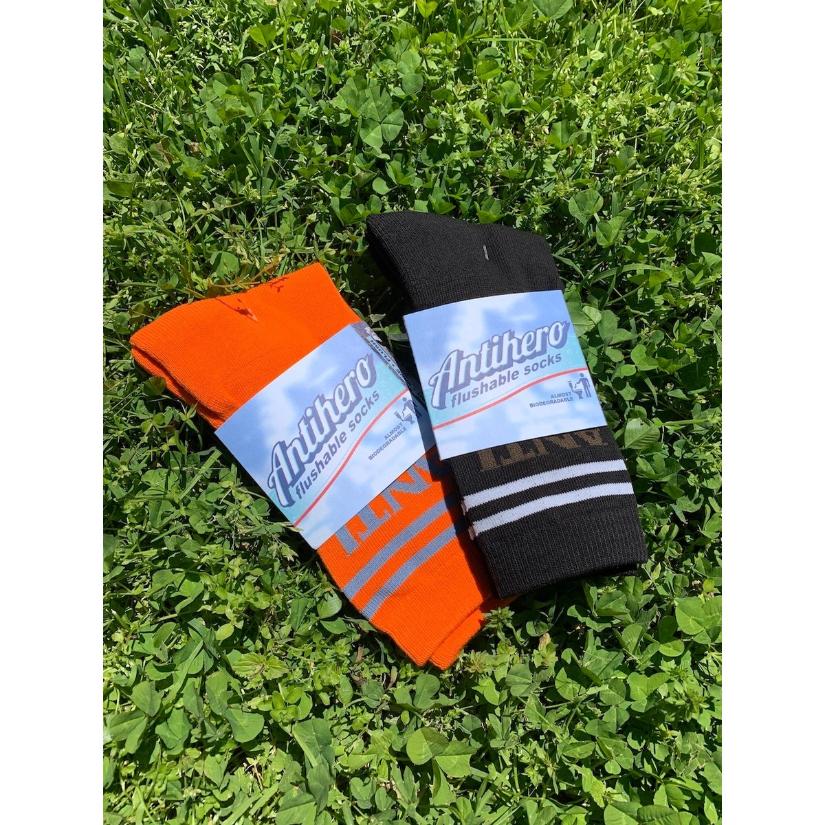 Flushable Cinch Socks