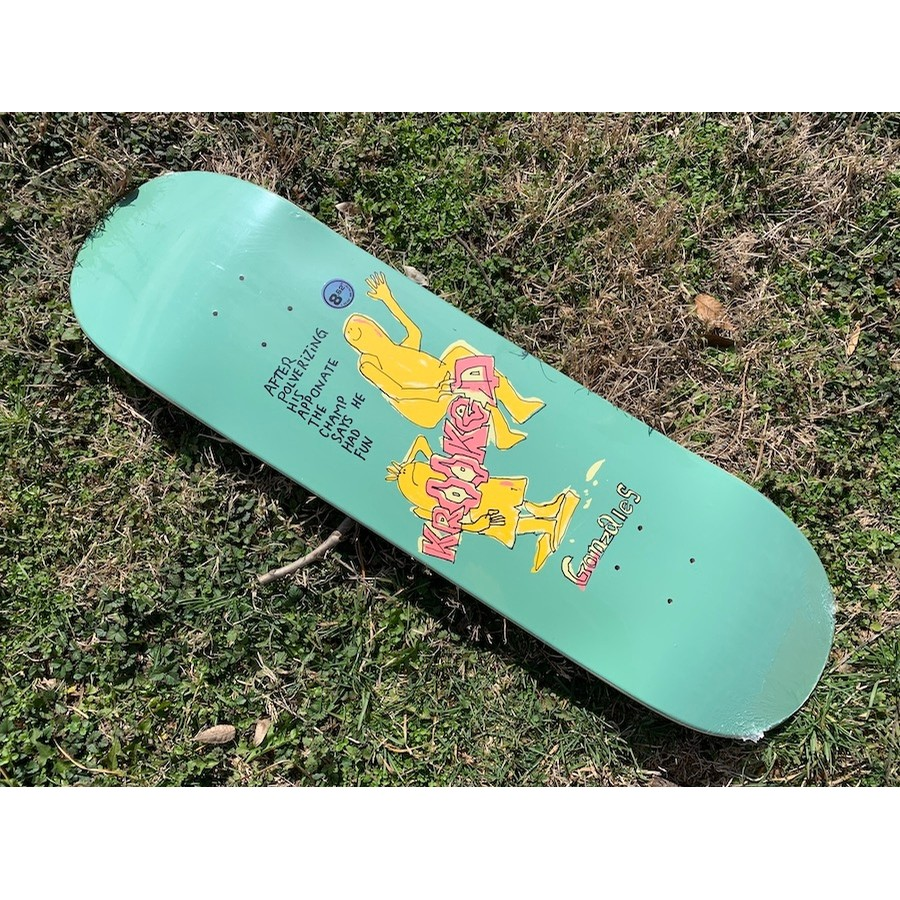 Gonz The Champ Deck