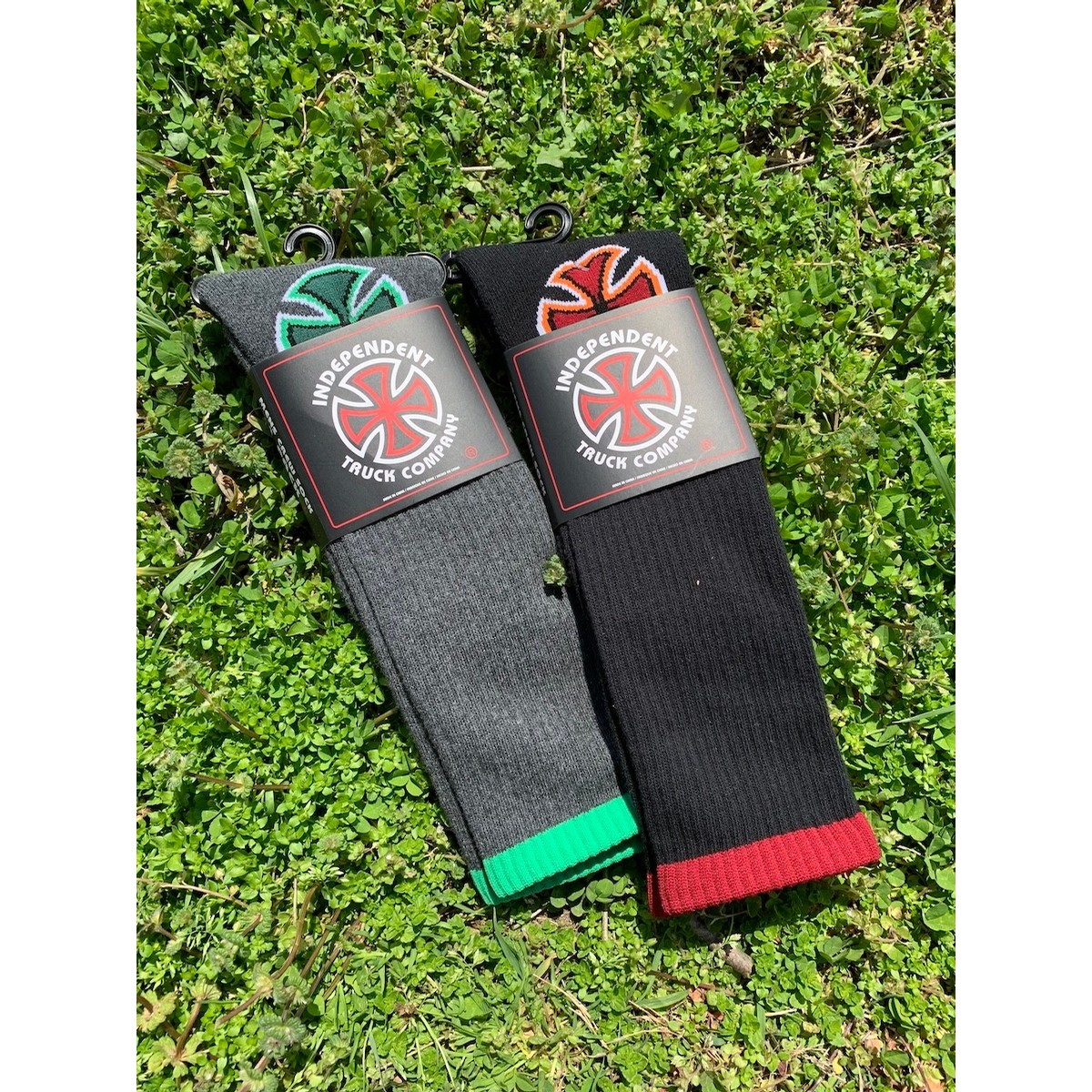 Iron Cross Crew Sock