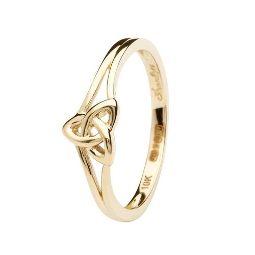 Gold Trinity Knot Ring