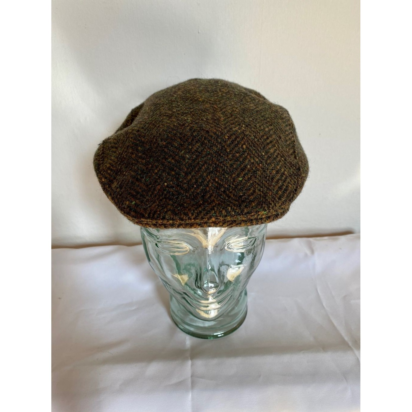 Brown Tweed Irish Hat