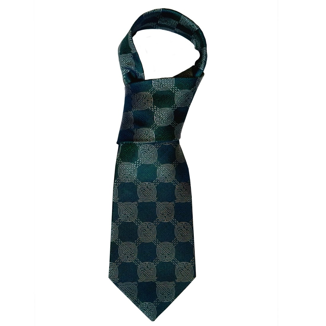 Celtic Knot Green Tie
