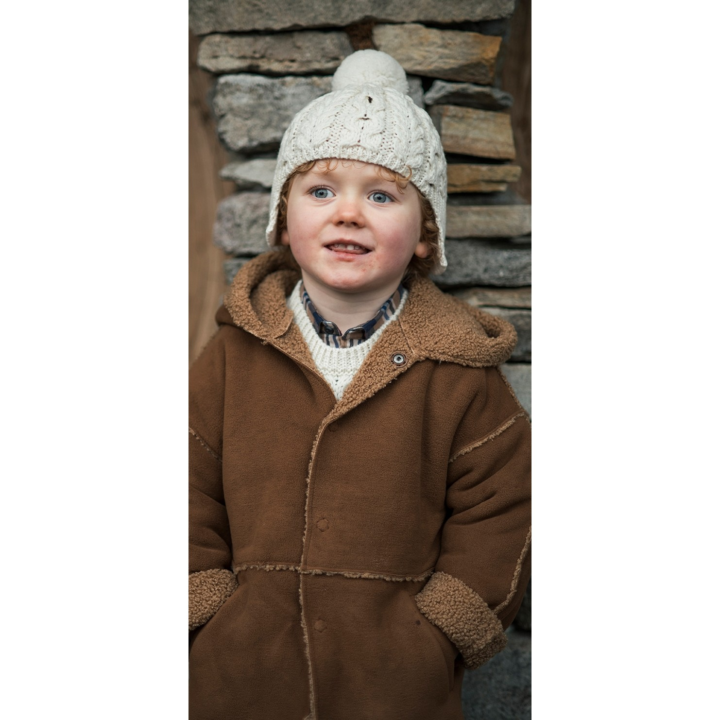 Childs Aran Hat