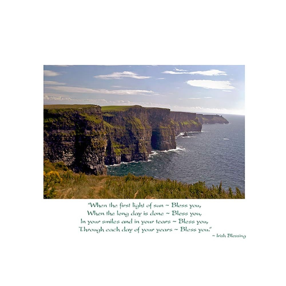 Cliffs of Moher Birthday Card