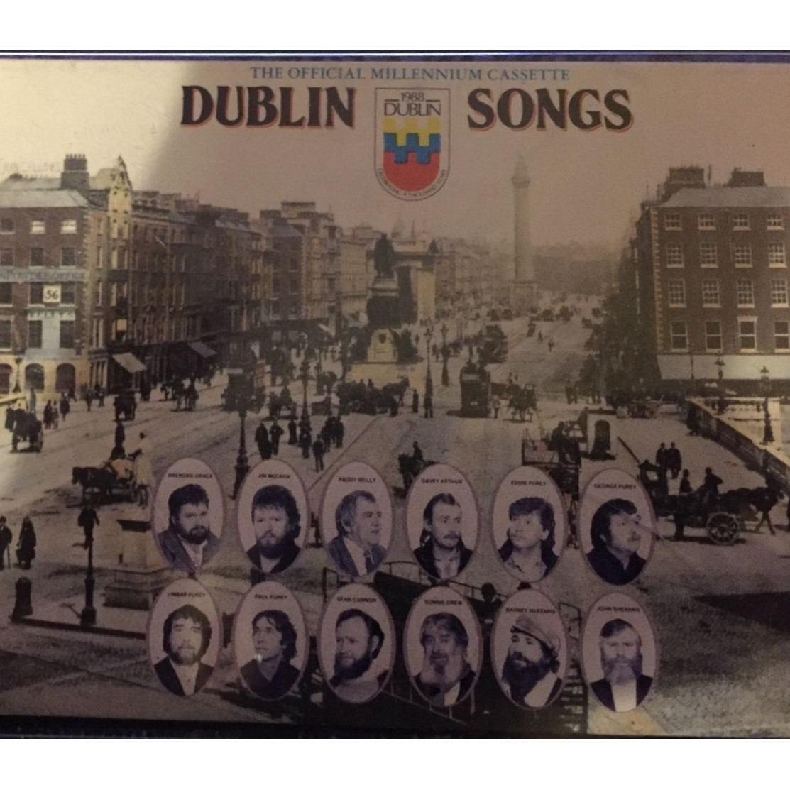 Dublin Songs,the Official Millennium Cassettes, Various Atrists