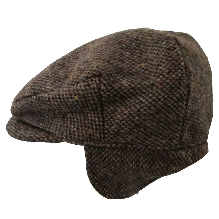 Brown Ear Flap Cap