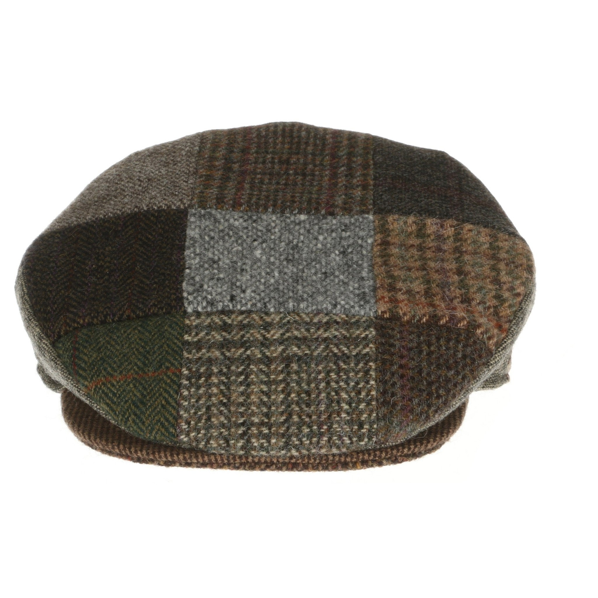 Hanna Hats Patch Tweed Child's Cap