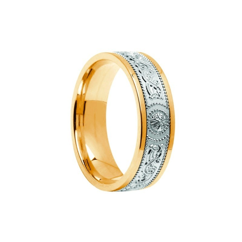 Irish Celtic Wedding Band