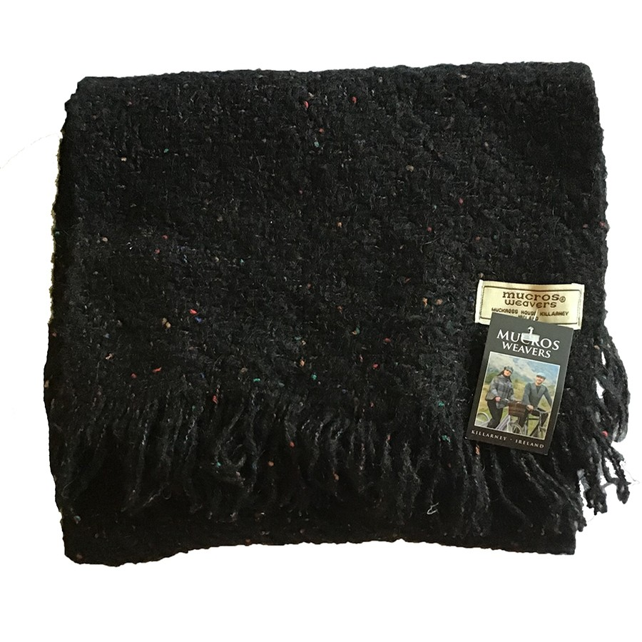 Irish Kells Scarf (Speckled Midnight)