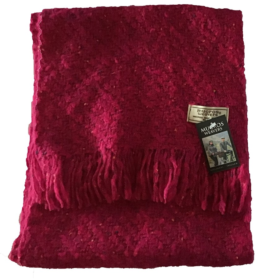 Irish Kells Scarf (Hot Pink)