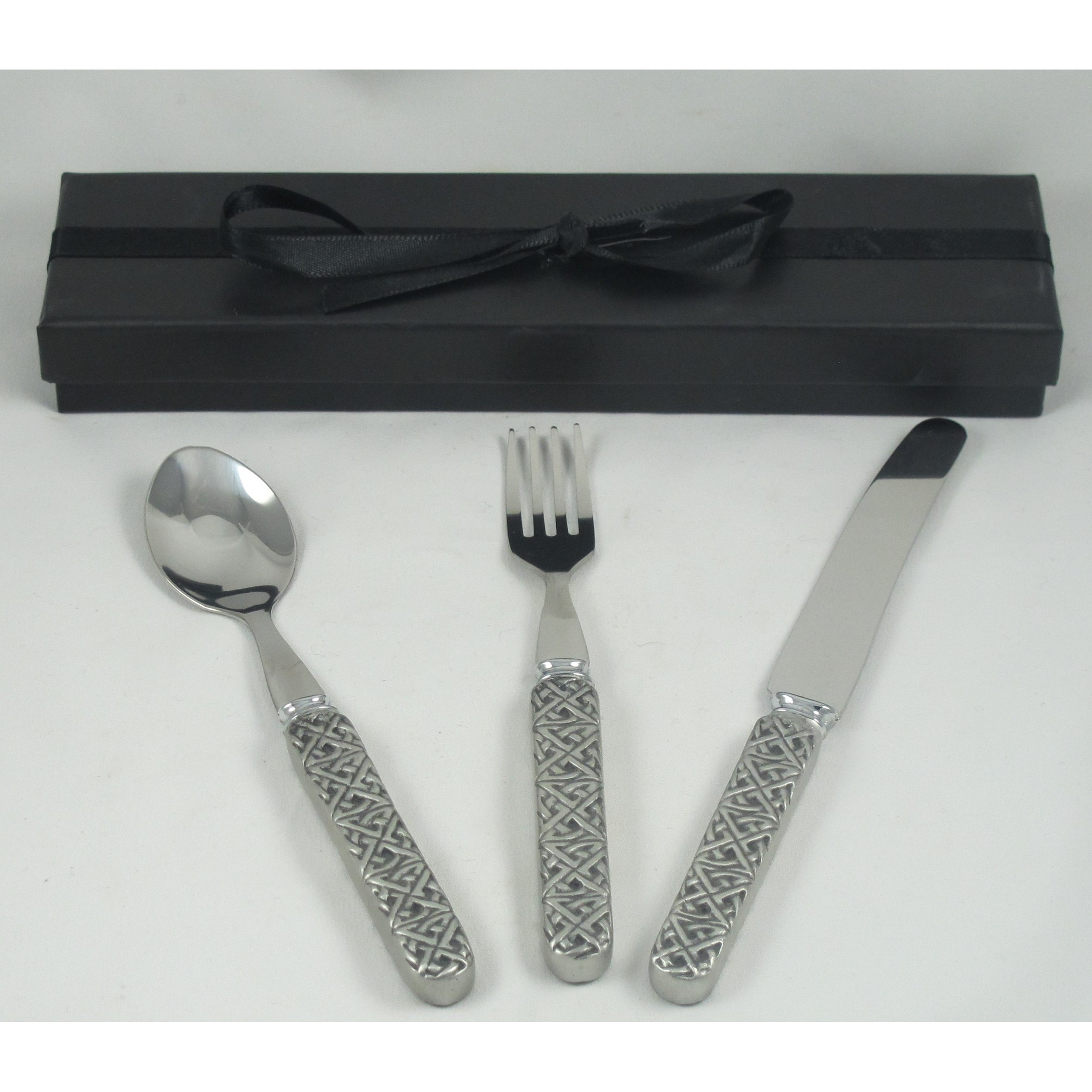 Celtic Pewter Cutlery Set