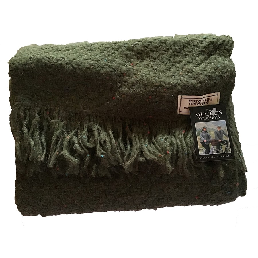 Irish Kells Scarf (Military Green)