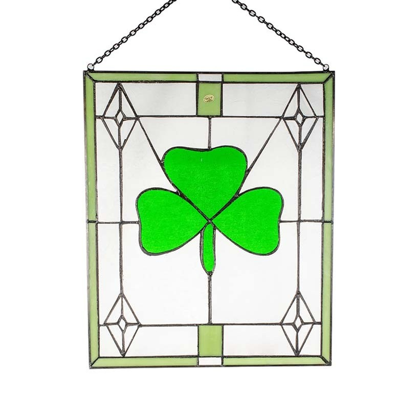 Irish Stained Glass (Shamrock Paragon)