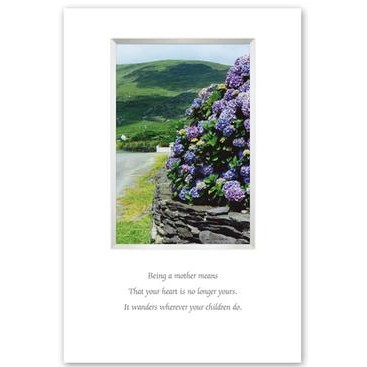 Celtic Images Photography Irish Mother's Blessing Framed