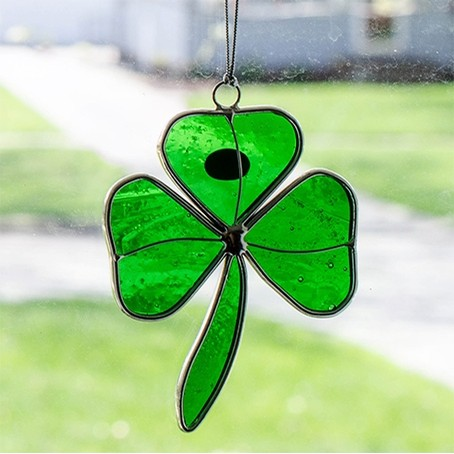 Shamrock Suncatcher Green