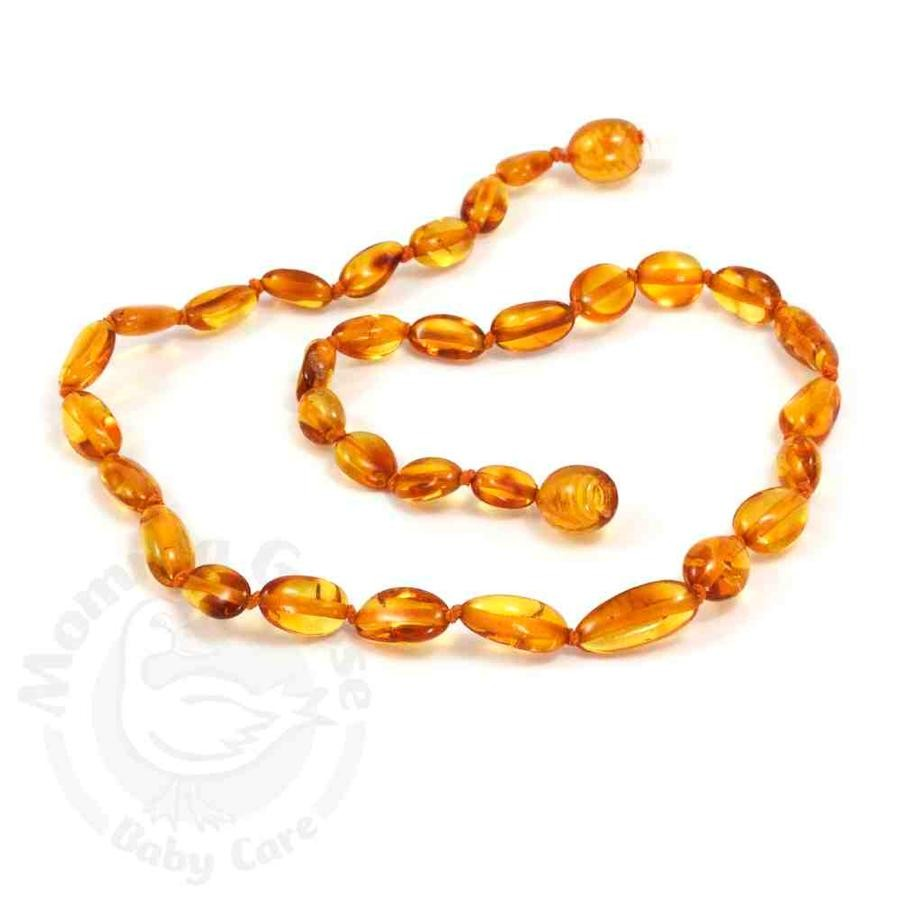 Momma Goose Baby Baltic Amber Teething Necklace