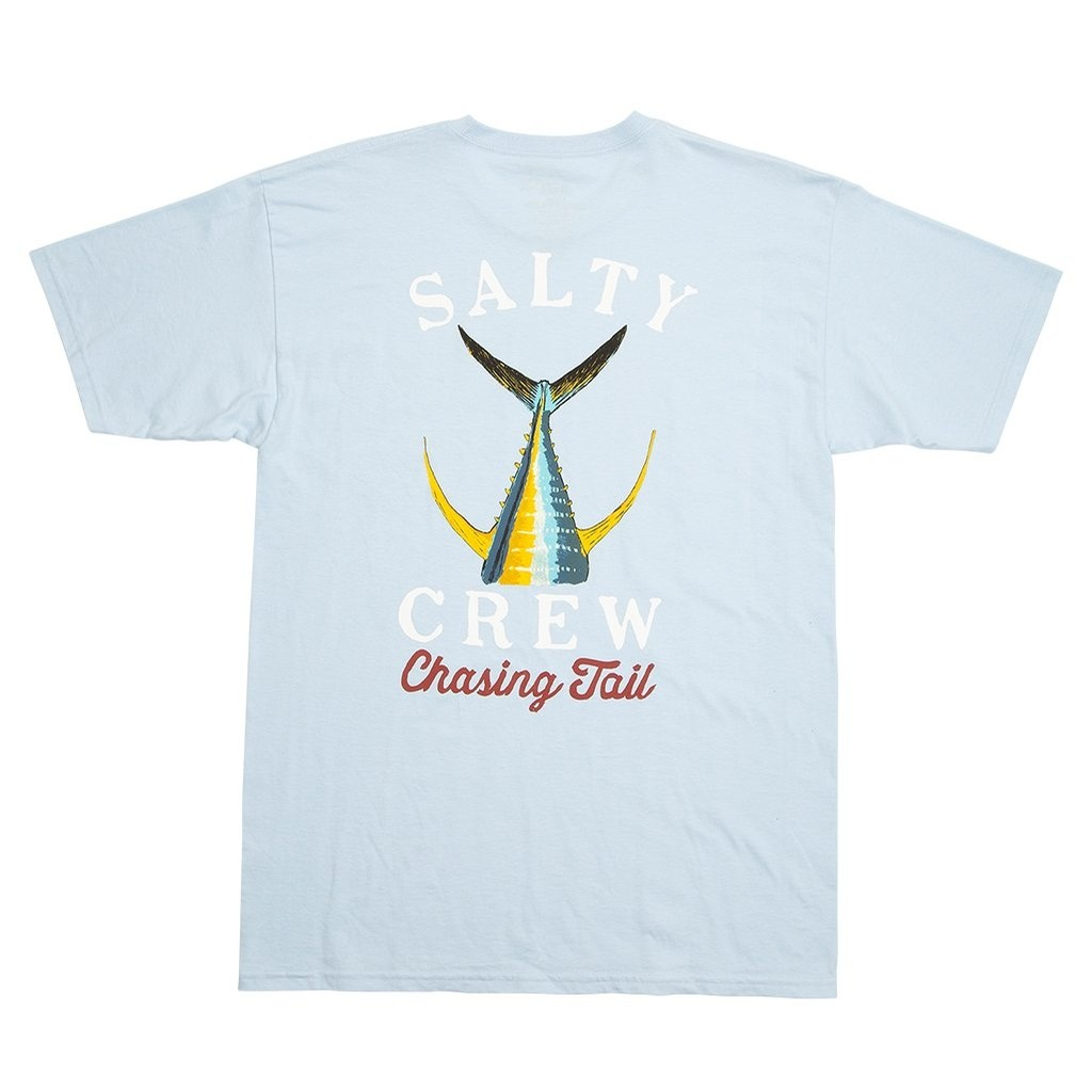 Tailed SS T-Shirt (Light Blue)