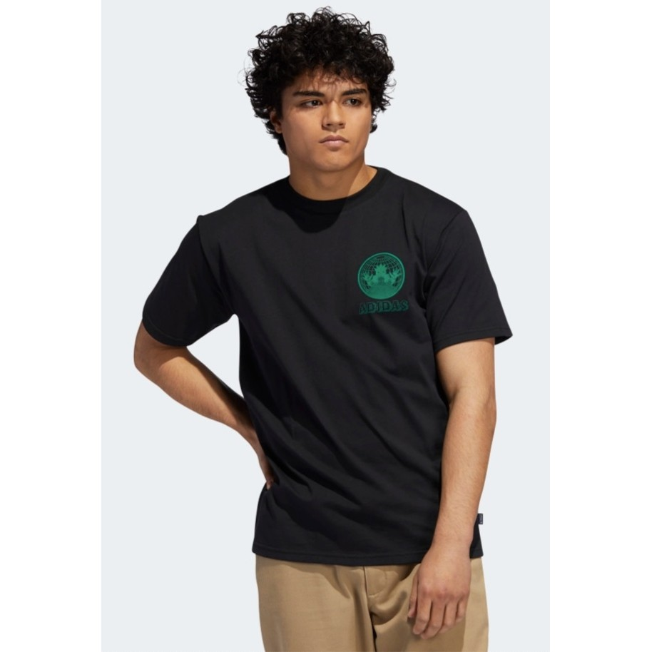 Gates Repair Tee (Black/Bold Green)
