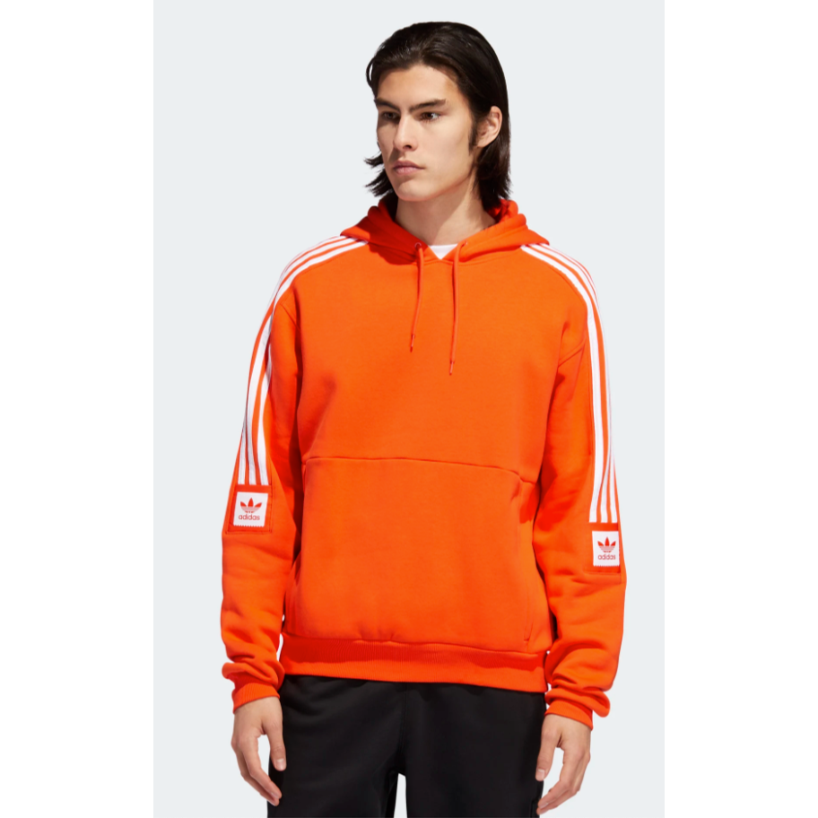 Modular Sweatshirt (Active Orange/White)