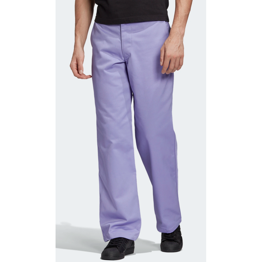 Nora Chino Pants (Light Purple)