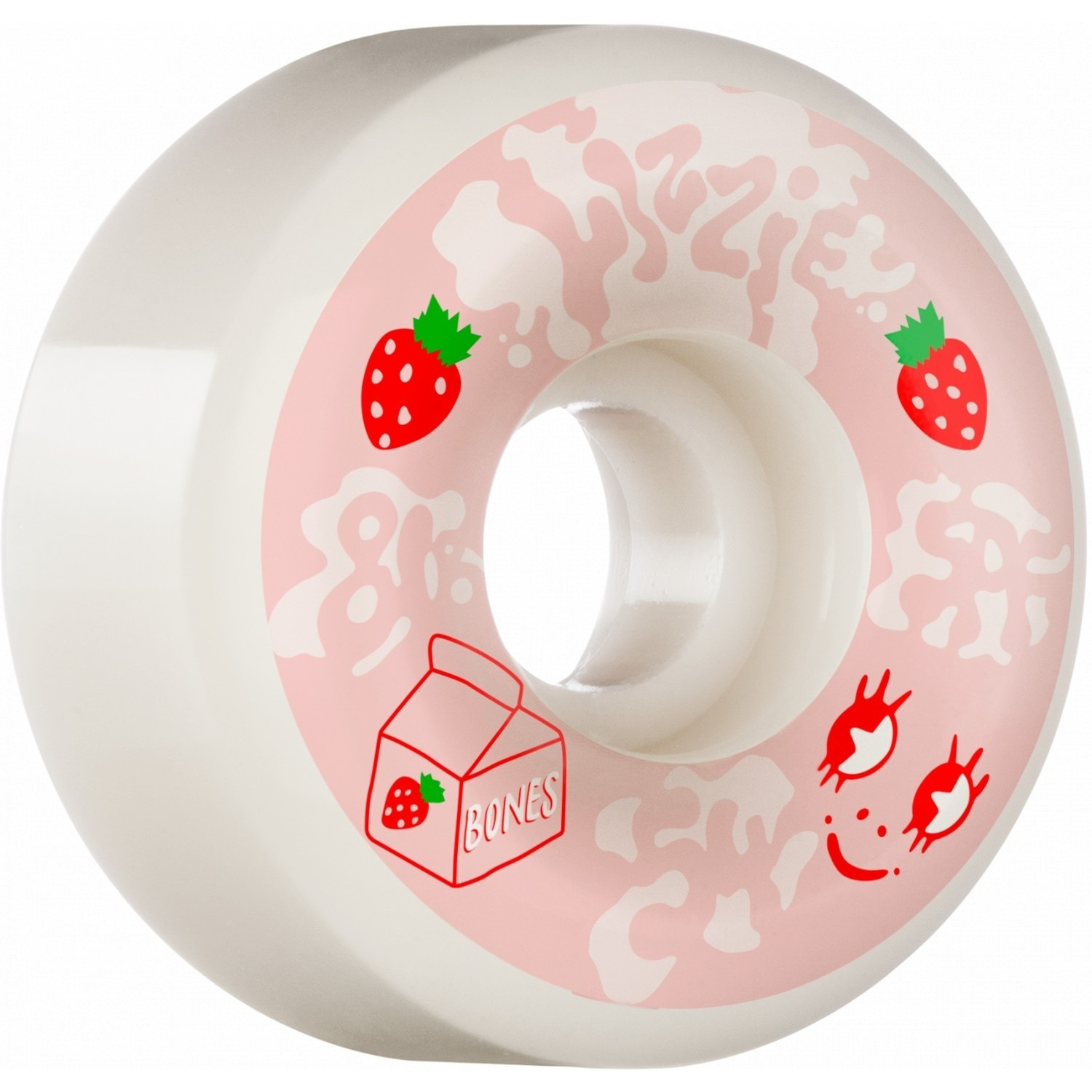 Lizzie Armanto Spilt Milk Wide Cut SPF Wheels