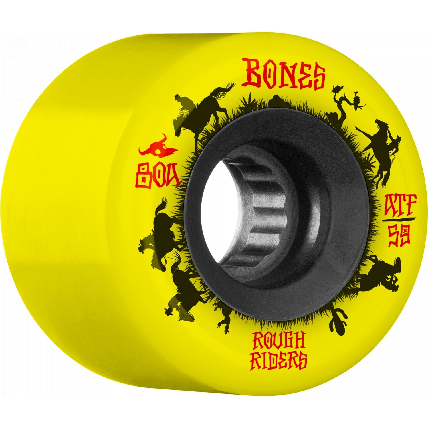 Rough Rider Wranglers 80A ATF Wheels (Yellow)