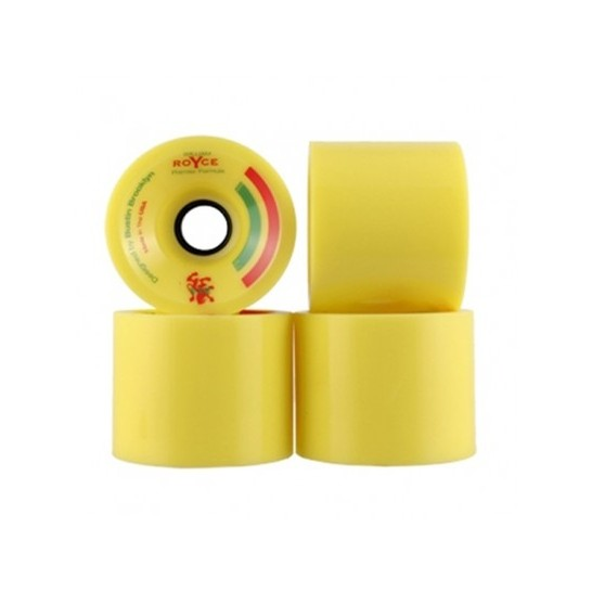 Royce Premier Pro 82A Wheels (Yellow)