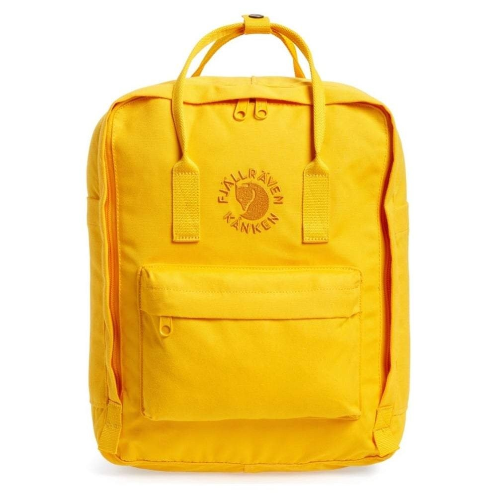 Re Kanken Backpack (Sunflower Yellow)