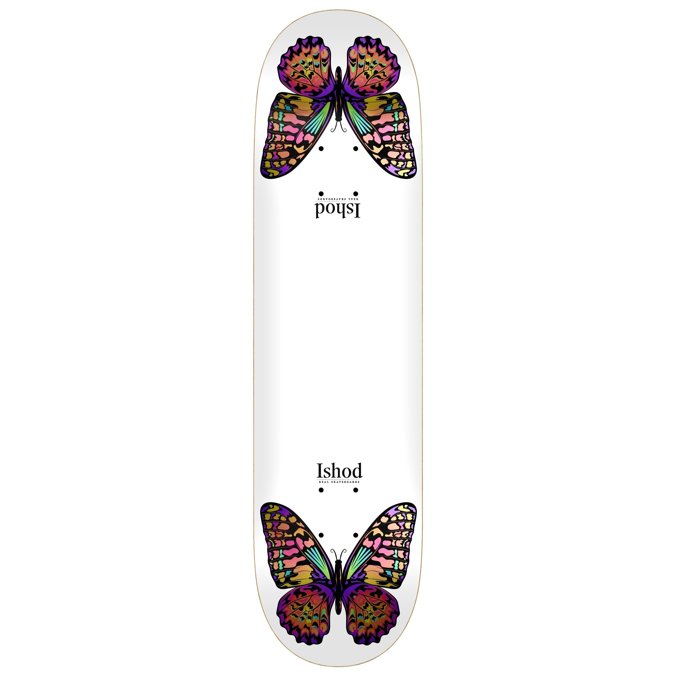 Ishod Wair Monarch Twin Tail Deck (White)