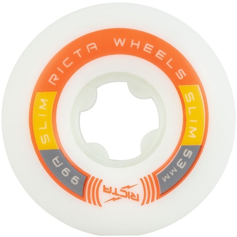 Rapido Slims 99A Wheels (White/Red)