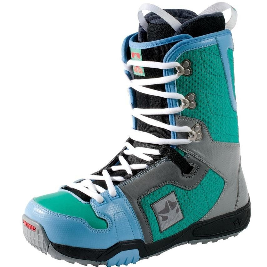 Smith Snowboard Boots 2012/13 (Lucite/Light Blue)