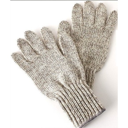 Ragg Wool Gloves (Natural)