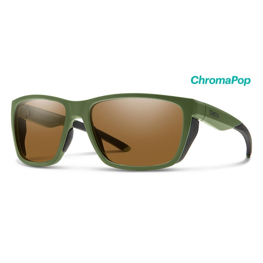 Longfin (Matte Moss/ChromaPop Polarized Brown)