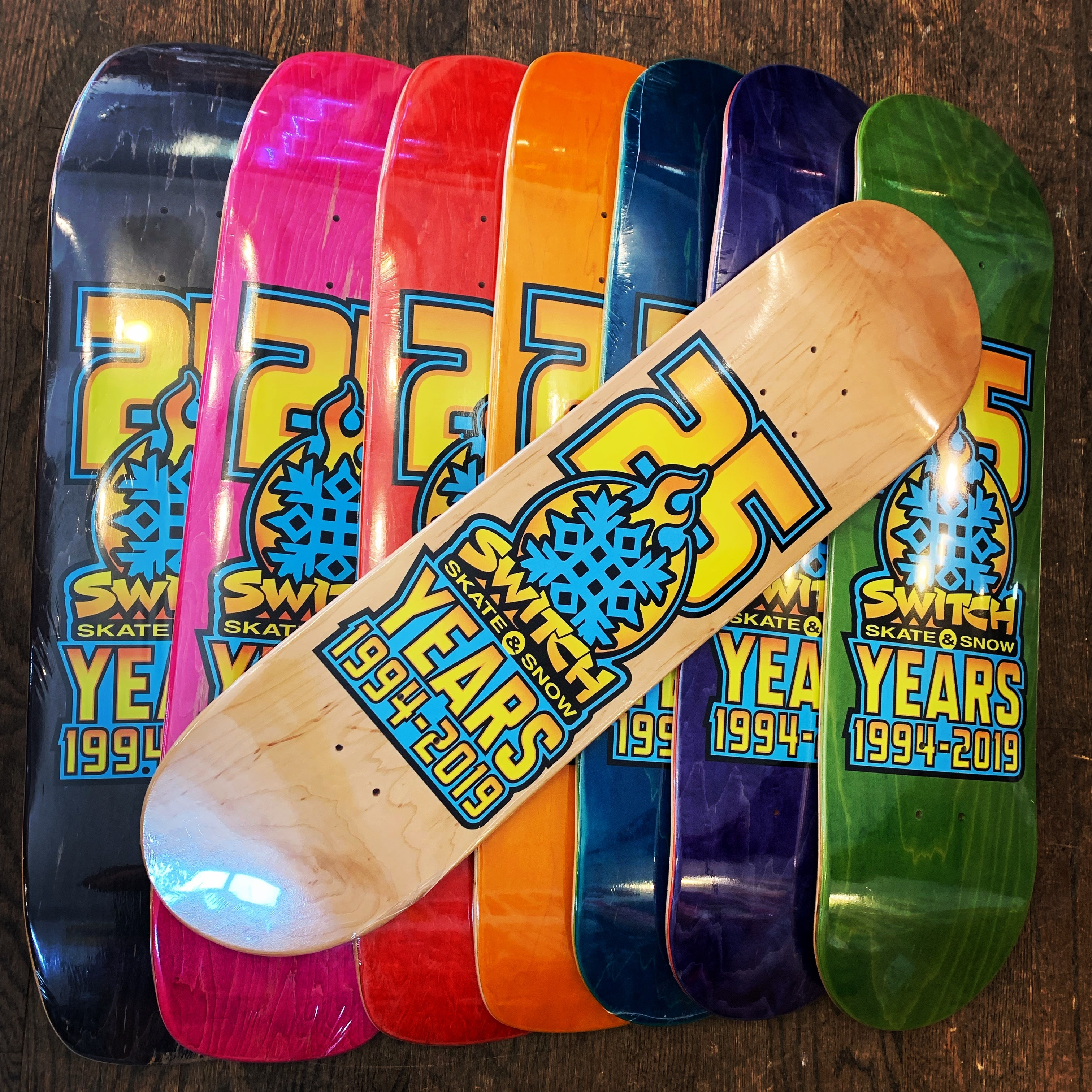 25th Year Anniversary Deck