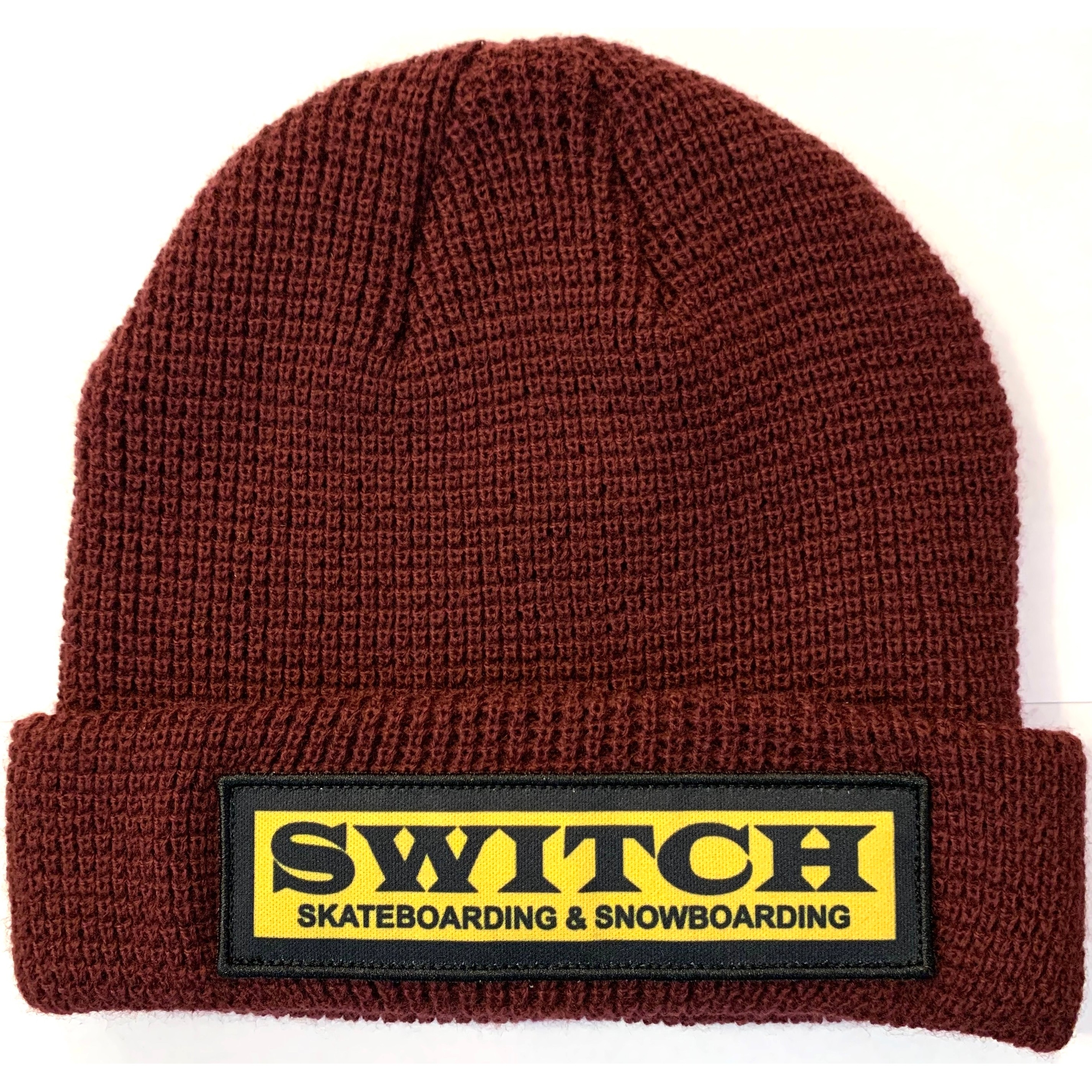 Switch OG Patch Beanie (Maroon)
